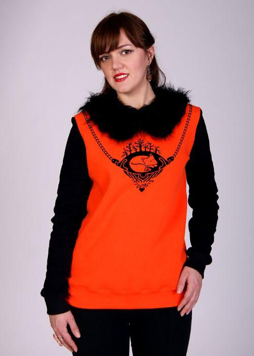 Женский пуловер Сказка