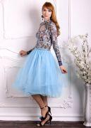 голубая юбка Шопенка